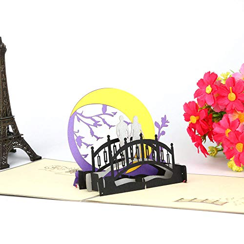 Greeting Cards for Mothers Day 3D Pop Up Cards Lover Happy Birthday Anniversary]()