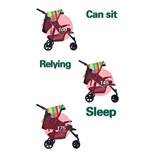Dormir Y Niños Cochecito Función Con Toldo E Doble De Plegable Para wp00qTxY