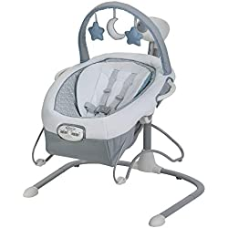 Graco Duet Sway LX Swing with Portable Bouncer, Alden