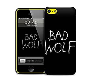 bad wolf black iPhone 5c protective phone case