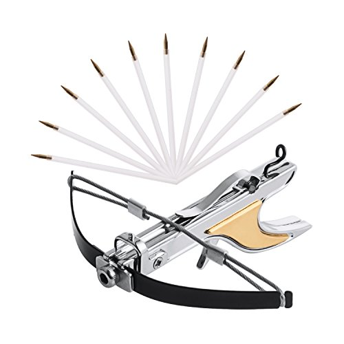 Woobud Mini Pocket Crossbow with Arrowes