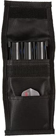 Casemaster Belt Clip 3 Dart Nylon Storage/Travel Case, Black