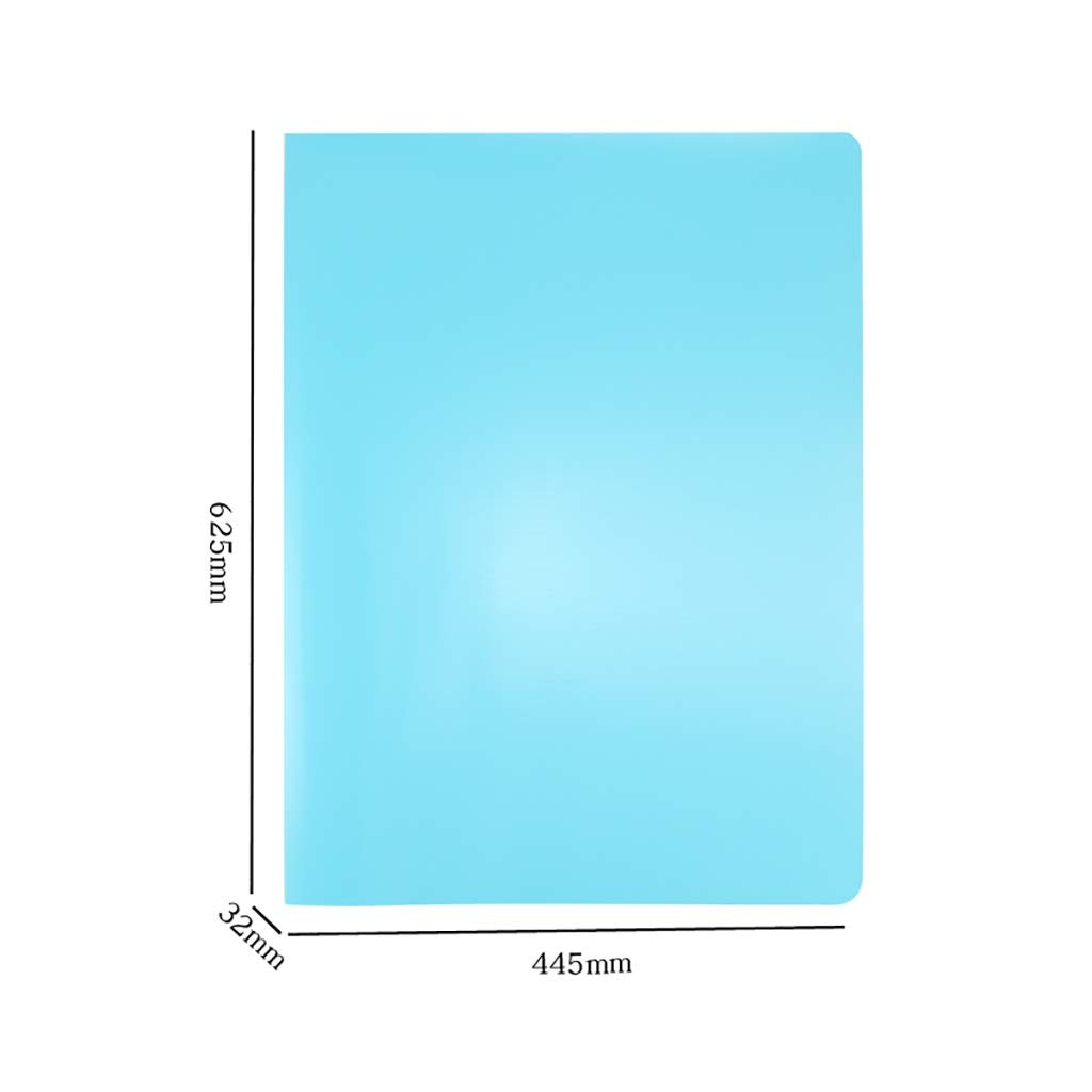 Folder, A2 File Storage (Plastic) 62.544.53.2CM (Color : B)