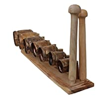 De Kulture Works™ Bell Scale Idiophone an Indian Music Instrument / Folk Marimba Xylophone Vibraphone Percussion InstruMant / Percussion Chime Ideal For New Year Gift For Girl / Woman / Boy / Man