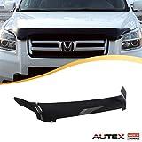 AUTEX Hood Shields Bug Deflector Fits for 2006 2007 2008 Honda Pilot Hood Protector Deflector
