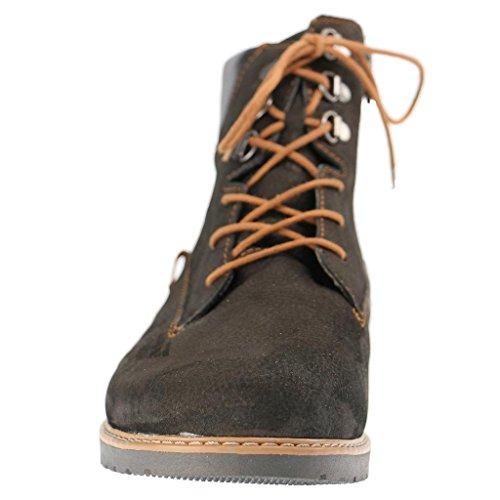 Havida Waldläufer Boots Womens Nero Leather q88Z7wx65