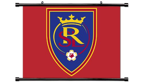 Real Salt Lake MLS Soccer Fabric Wall Scroll Poster (32x24) Inches
