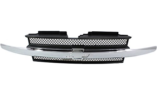 Trailblazer Chrome Grille - 2