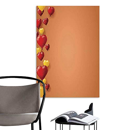 Art Print Paintings ModernCelebrate colorful background with flying colorful balloons on orange Template for greetings card invitation with inflatable coloured balloons1.jpg Living Room Wall Decor a]()