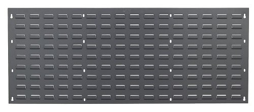 Quantum Storage Louvered Panel - 48in.W x 19in.H, Model# QLP-4819 (Louvered Wood Panels compare prices)