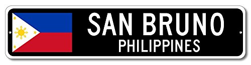Philippine Flag Sign - SAN BRUNO, PHILIPPINES - Filipino Custom Flag Sign - 9