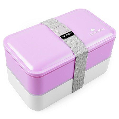 UPC 793842502688, Pretty Bento Box/Bento Lunch Box (Light Pink) Multi-Compartment Bento Boxes with Utensils