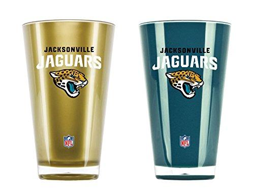 NFL Jacksonville Jaguars 20oz Insulated Acrylic Tumbler Set of ()