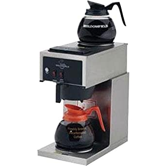 Bloomfield 8543-D2 Koffee King Coffee Brewer, Low Profile, Pour-Over Option
