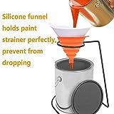 Zebery Paint Strainer, Disposable Paint Paper