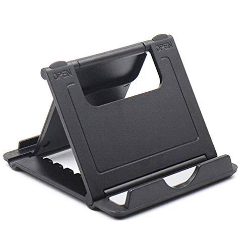 IBISHITAOXUNBAIHUOD Portable Universal Non-slip Phone Stand Creative Foldable Desktop Holder Dock for Tablet Mobile…