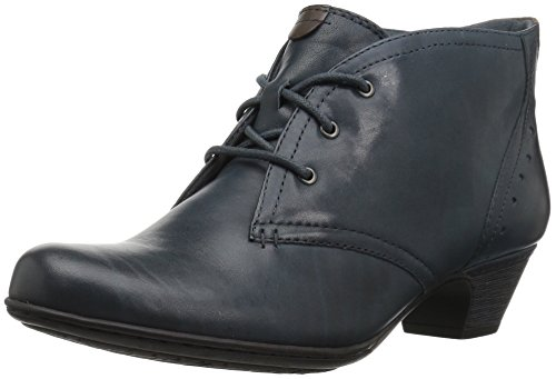 omen's Cobb Hill Aria Ankle Bootie, Oxford Blue, 9 M US ()