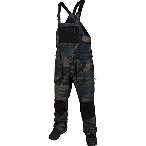 Camouflage Bib Overalls (Volcom Men's Roan Bib Overall, Camouflage, M)