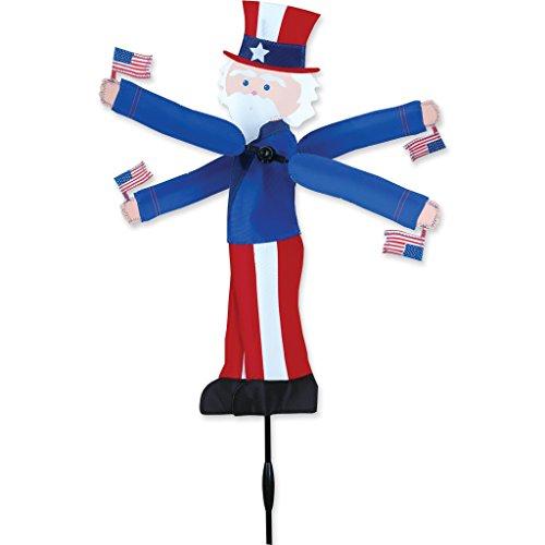 Premier Kites Whirligig Spinner - 20 in. Uncle Sam