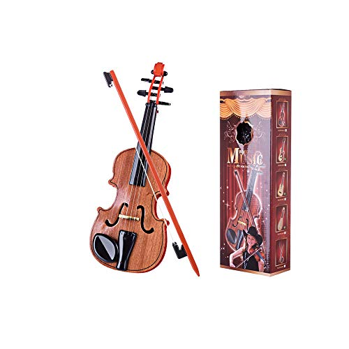 RuiyiF Toy Violin for Kids Beginners Ages 3-5, Play Violin for Kids Musical Toys for Toddlers 15 Inch