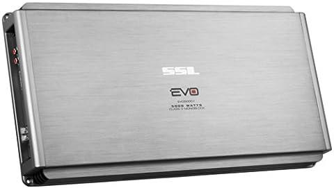SOUND STORM EVO5000.1 EVO 5000-Watt Monoblock, Class D 1 to 8 Ohm Stable Monoblock Amplifier with Remote Subwoofer Level (Amplifier Monoblock 5000 Watts)