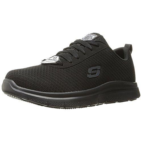 Skechers Pour Avantage Flex Hommes De Travail Bendon Grande Chaussure De Travail, Noir, 11,5 W Nous