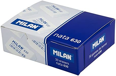 Caja 30 Gomas Nata MILAN 630 rectangular Envuelta individualmente ...