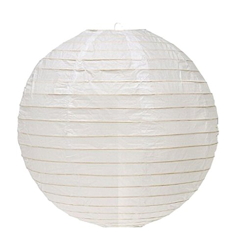 10pcs Premium Hand made Round Paper led Lantern for spring and Mid-Autumn Festival,marriage decoration white