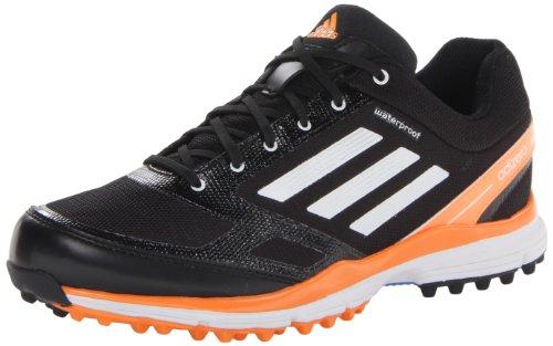 Adidas Golf Sandals - adidas Men's Adizero Sport II Golf Shoe,Black/White/Solar Blue,9.5 M US