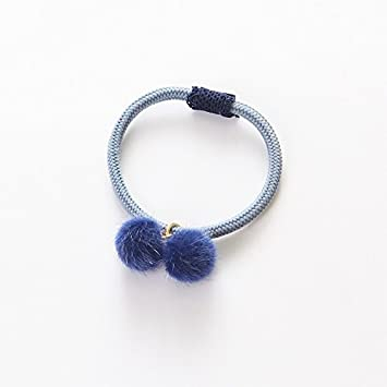 Amazon.com   Mini Rubber Hair Band Elastic Hair Bands Fashion Hair Rope with  Balls Hair Accessories for Kids Girls   Beauty a0fba687372