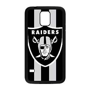 Samsung Galaxy S5 Case Image Of Oakland Raiders Logo YGRDZ25315 Plastic Design Phone Cases Cover
