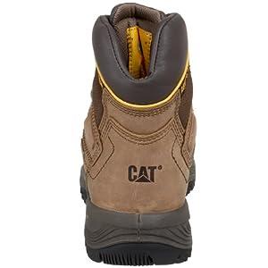 Caterpillar Men's Diagnostic Hi Cut Cap Soft Toe Waterproof Boot,Dark Beige,11.5 M US