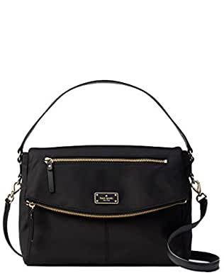 Kate Spade New York Blake Avenue Lyndon Shoulder Bag Handbag Purse (Black)