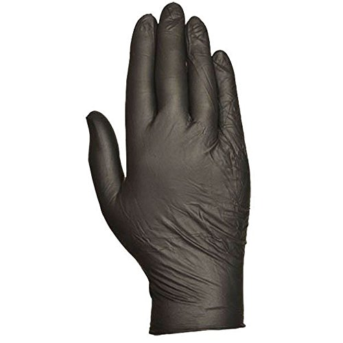 Pack Full Carton (Bellingham Glove Full Carton 6Mil Powder Free Nitrile Gloves, Medium, Black)
