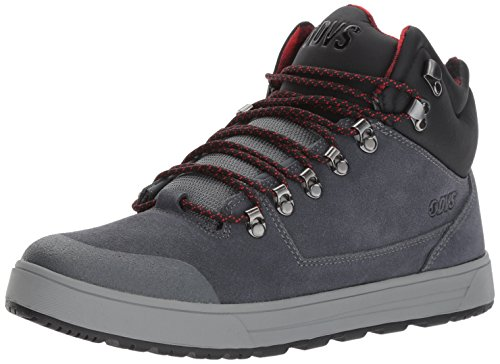 DVS Shoes Vanguard, Sneaker a Collo Alto Uomo Grau (Charcoal Suede)