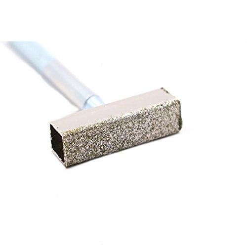 [해외]Rugjut 다이아몬드 코팅 연삭 디스크 휠 석재 드레서 올바른 도구 드레싱 벤치 그라인더, 다이아몬드 스톤 드레서/Rugjut Diamond Coated Grinding Disc Wheel Stone Dresser Correct Tool Dressing Bench Grinder, Diamond Stone Dresser