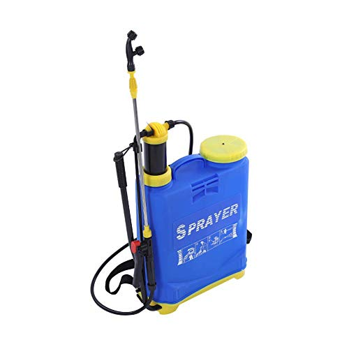 Jadpes 16L Manual Sprayer Thickening Watering Sprayer Agricultural Hand Back -