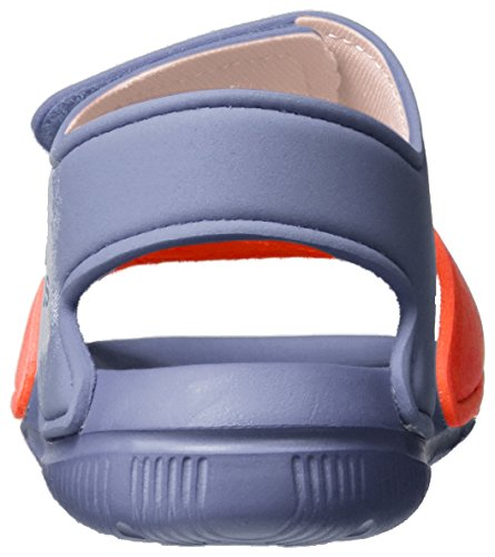 adidas Unisex-Kinder Altaswim Sandalen Violett (Super Purple/haze Coral/Easy Coral)