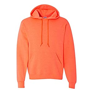 Jerzees - NuBlend Hooded Sweatshirt, Retro Heather Coral, Large