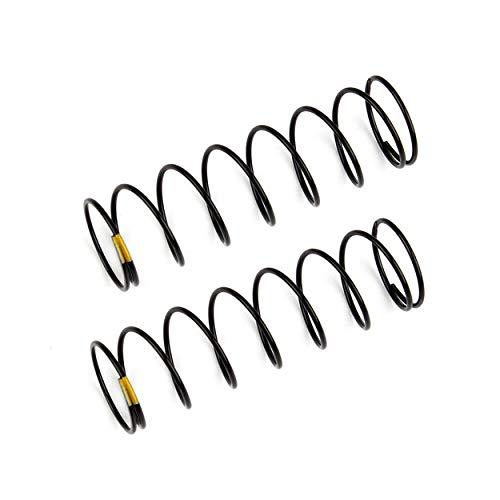 Team Associated Rear Shock Springs, Yellow, 2.30 lb/in, L61mm