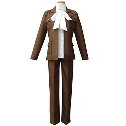 Holran Axis Powers Hetalia Iceland Cosplay Costume Uniform (Male Size (Iceland Costume For Kids)