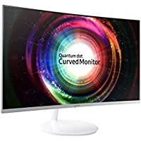 Samsung C32H711 32-Inch WQHD QLED Curved Monitor (360 Degree Design)