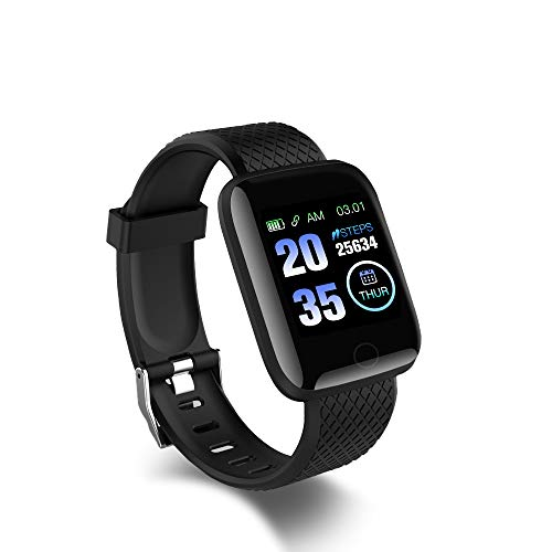 PXFD Smartwatch, 1,3 inch fitness polshorloge, fitness tracker, activiteitstracker met hartslagmeter, stappenteller…