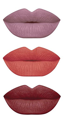 Lip Made Gloss (MATTE LIQUID LIPSTICK SET OF 3 COLORS LIP GLOSS MADE IN USA)
