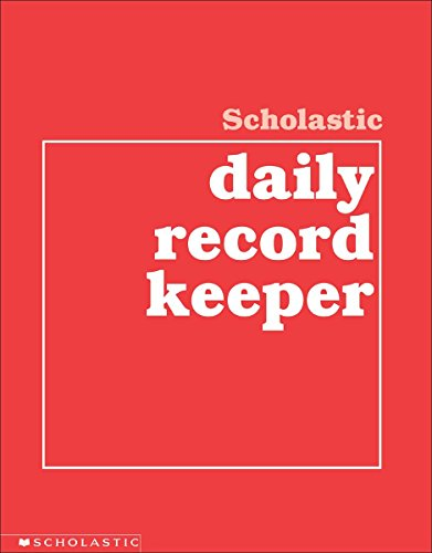 Scholastic Daily Record Keeper by Scholastic Books (1-Feb-1994) Paperback