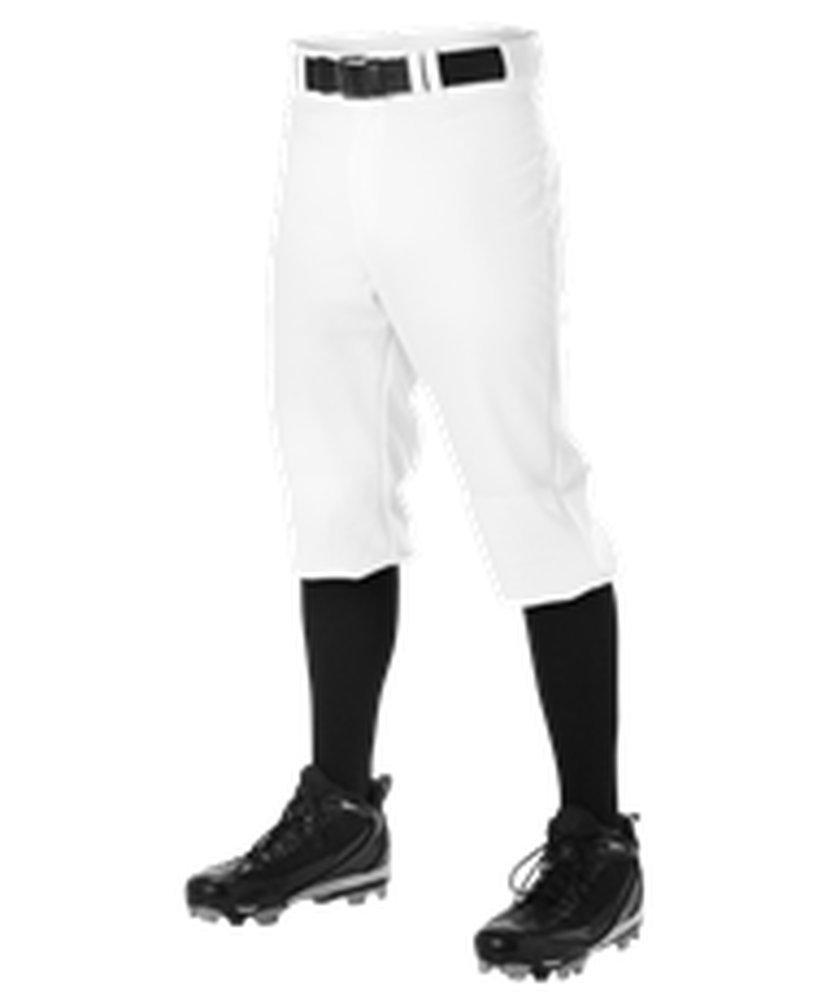 Alleson Athletic PANTS メンズ B076QC2G5Z 3X ホワイト ホワイト 3X
