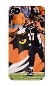 New Style Stylishgojkqt Hard Case Cover Case For Sam Sung Galaxy S4 I9500 Cover - CINCINNATI BENGALS Nfl Football N