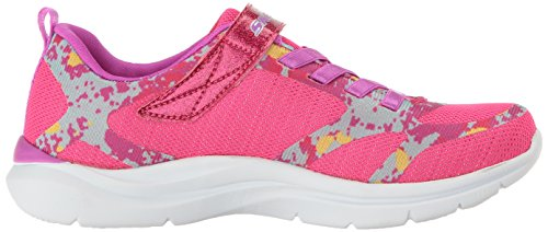 Skechers Kids Kids Trainer Lite-Bright Racer Sneaker Neon Pink/Purple