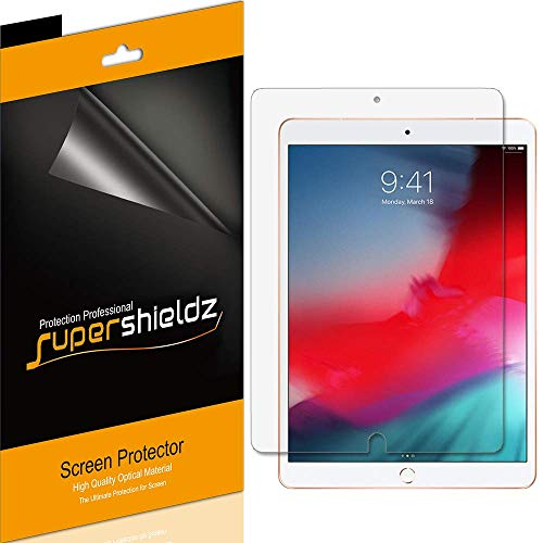 (3 Pack) Supershieldz for Apple iPad Air 10.5 inch 2019 (3rd Generation) and iPad Pro 10.5 inch Screen Protector, Anti Glare and Anti Fingerprint (Matte) Shield (Best Ipad Pro Matte Screen Protector)