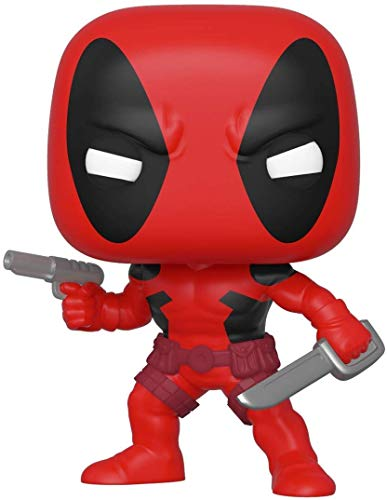 Funko Pop! Bobble Marvel 80th - First Appearance Deadpool